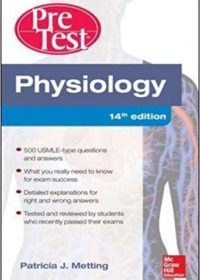 Physiology PreTest Self-Assessment and Review, 14e (Original Publisher PDF)