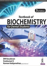Textbook of Biochemistry for Dental Students, 1e (True PDF)