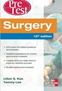 Surgery PreTest Self-Assessment and Review, 13e (Original Publisher PDF)