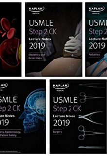 KAPLAN USMLE Step 2 CK Lecture Notes 2019: 5-Book Set (EPUB)