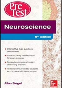 Neuroscience Pretest Self-Assessment and Review, 8e (Original Publisher PDF)
