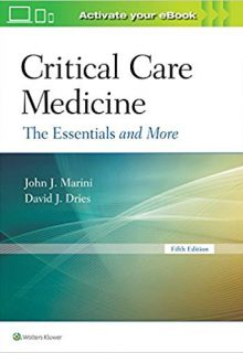 Critical Care Medicine: The Essentials and More, 5e (EPUB)