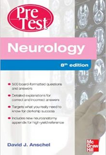 Neurology PreTest Self-Assessment And Review, 8e (Original Publisher PDF)