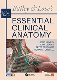 Bailey & Love's Essential Clinical Anatomy, 1e (Original Publisher PDF)