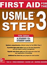 First Aid for the USMLE Step 3, 5e (Original Publisher PDF)
