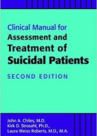 Clinical Manual for Assessment and Treatment of Suicidal Patients, 2e (EPUB)