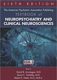 The American Psychiatric Association Publishing Textbook of Neuropsychiatry and Clinical Neurosciences, 6e (EPUB)