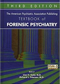 The American Psychiatric Association Publishing Textbook of Forensic Psychiatry, 3e (EPUB)