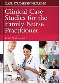 The Family Nurse Practitioner: Clinical Case Studies, 2e (Original Publisher PDF)