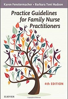 Practice Guidelines for Family Nurse Practitioners, 4e (Original Publisher PDF)