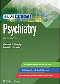 Blueprints Psychiatry, 6e (EPUB)