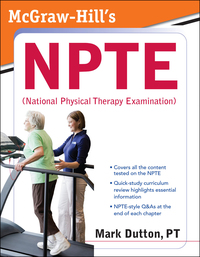 McGraw-Hill's NPTE (National Physical Therapy Examination),1e (EPUB)