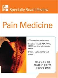 McGraw-Hill Specialty Board Review Pain Medicine, 1e (EPUB)