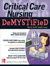 Critical Care Nursing DeMYSTiFieD, 1e (EPUB)