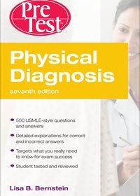 Physical Diagnosis PreTest Self Assessment and Review, 7e (EPUB)