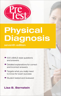 Physical Diagnosis PreTest Self Assessment and Review, 7e (EPUB)