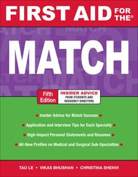 First Aid for the Match, 5e (EPUB)
