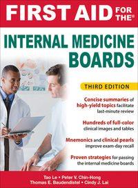 First Aid for the Internal Medicine Boards, 3e (EPUB)