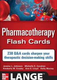 Pharmacotherapy Flash Cards, 1e (EPUB)