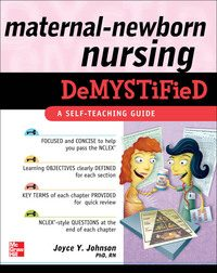 Maternal-Newborn Nursing DeMYSTiFieD: A Self-Teaching Guide, 1e (EPUB)