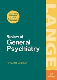 Review of General Psychiatry, 5e (Original Publisher PDF)