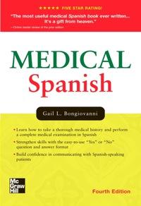 Medical Spanish, 4e (Original Publisher PDF)
