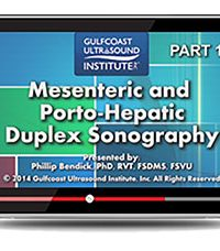 Mesenteric and Porto-Hepatic Duplex Sonography (Videos+PDFs)