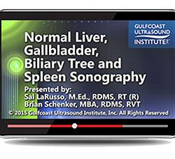 Normal Liver, Gallbladder, Biliary Tree, and Spleen Sonography (Videos+PDFs)