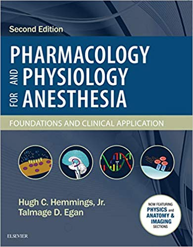 Pharmacology and Physiology for Anesthesia, 2e (True PDF)