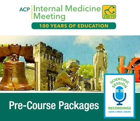 ACP Internal Medicine Meeting Pre-Courses 2019 (Videos)