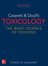 Casarett & Doull's Toxicology: The Basic Science of Poisons, 9e (Original Publisher PDF)