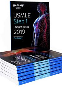 Kaplan USMLE Step 1 Lecture Notes 2019: 7-Book Set (Original Publisher PDF)