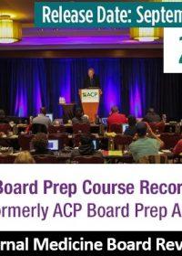 ACP Internal Medicine Board Review Courses 2019 (Videos)