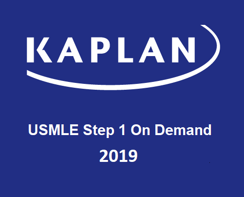 Kaplan USMLE Step 1 On Demand Prep 2019 (Videos)