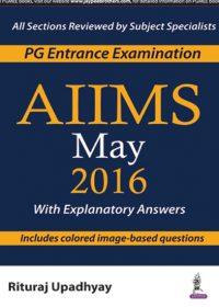 AIIMS May 2016, 1e (True PDF)