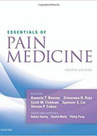 Essentials of Pain Medicine, 4e (Original Publisher PDF)