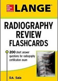 LANGE Radiography Review Flashcards, 1e (Original Publisher PDF)