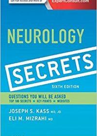Neurology Secrets, 6e (Original Publisher PDF)