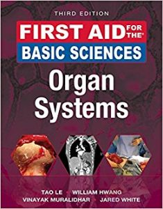 First Aid for the Basic Sciences: Organ Systems, 3e (First