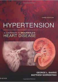 Hypertension: A Companion to Braunwald's Heart Disease, 3e (Original Publisher PDF)