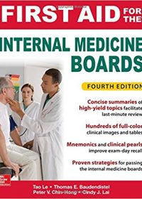 First Aid for the Internal Medicine Boards, 4e (Original Publisher PDF)
