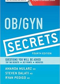 Ob/Gyn Secrets, 4e (Original Publisher PDF)