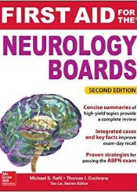 First Aid for the Neurology Boards, 2e (Original Publisher PDF)