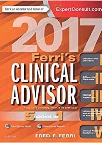 Ferri's Clinical Advisor 2017: 5 Books in 1, 1e (Original Publisher PDF)