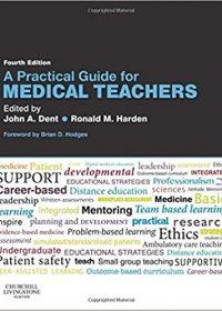 A Practical Guide for Medical Teachers, 4e (Original Publisher PDF)