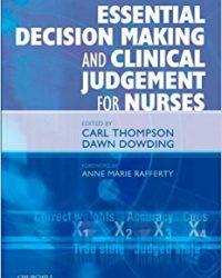 Essential Decision Making and Clinical Judgement for Nurses, 1e (Original Publisher PDF)