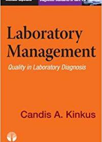 Laboratory Management: Quality in Laboratory Diagnosis, 1e (Original Publisher PDF)