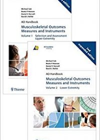 Musculoskeletal Outcomes Measures and Instruments, 2e (Original Publisher PDF)