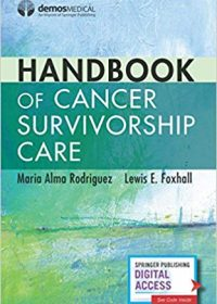 Handbook of Cancer Survivorship Care, 1e (Original Publisher PDF)