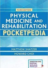 Physical Medicine and Rehabilitation Pocketpedia, 3e (Original Publisher PDF)